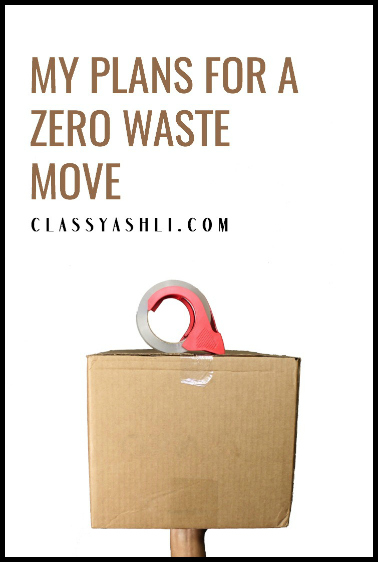 My Plans for a Zero Waste Move